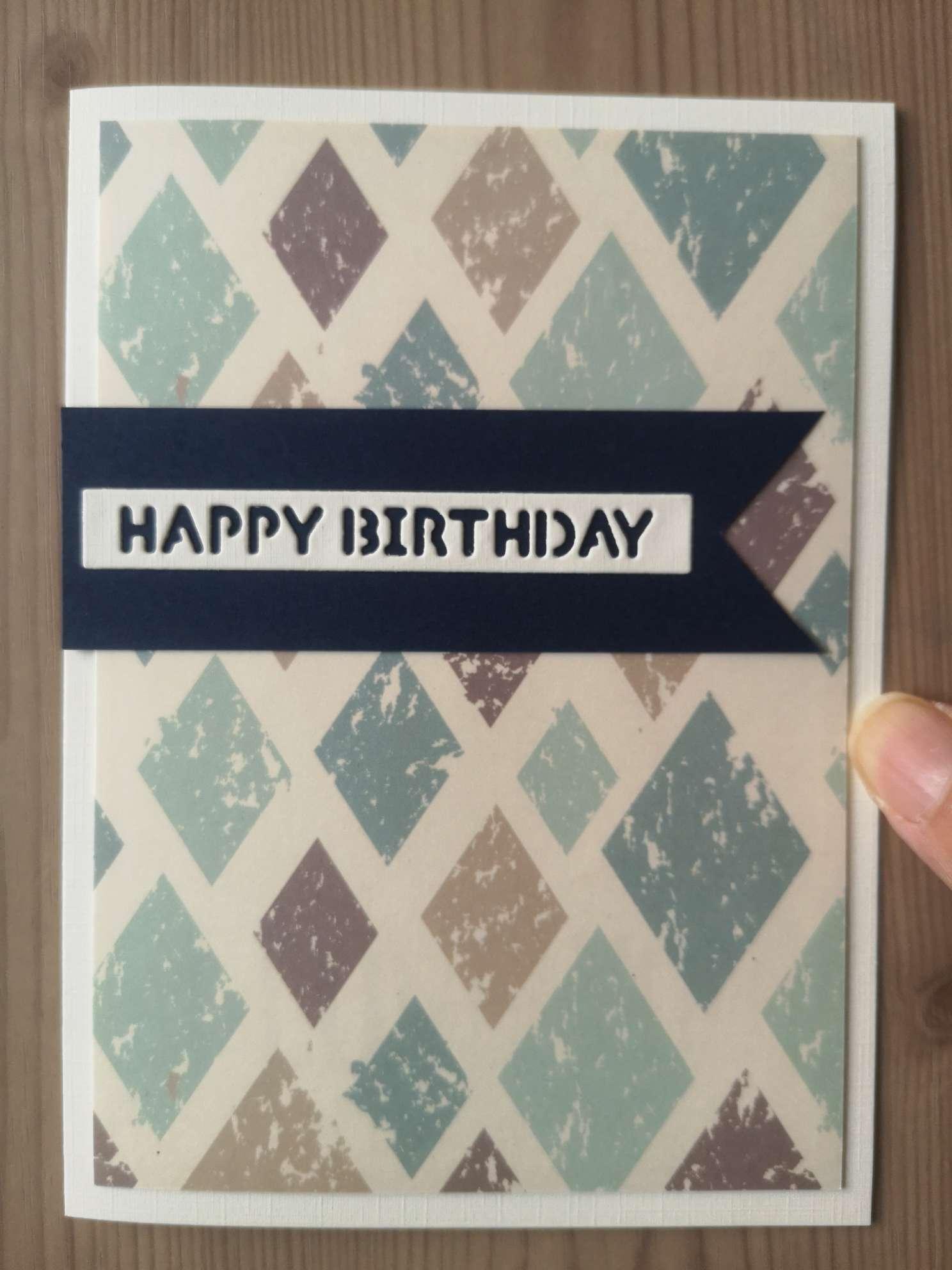 暗藏玄机的生日贺卡