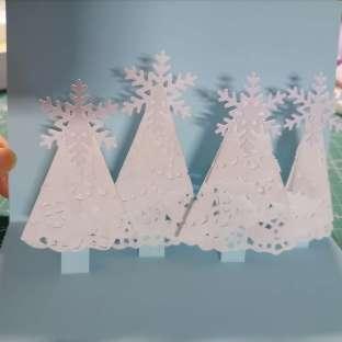 冬日贺卡 圣诞节贺卡 062