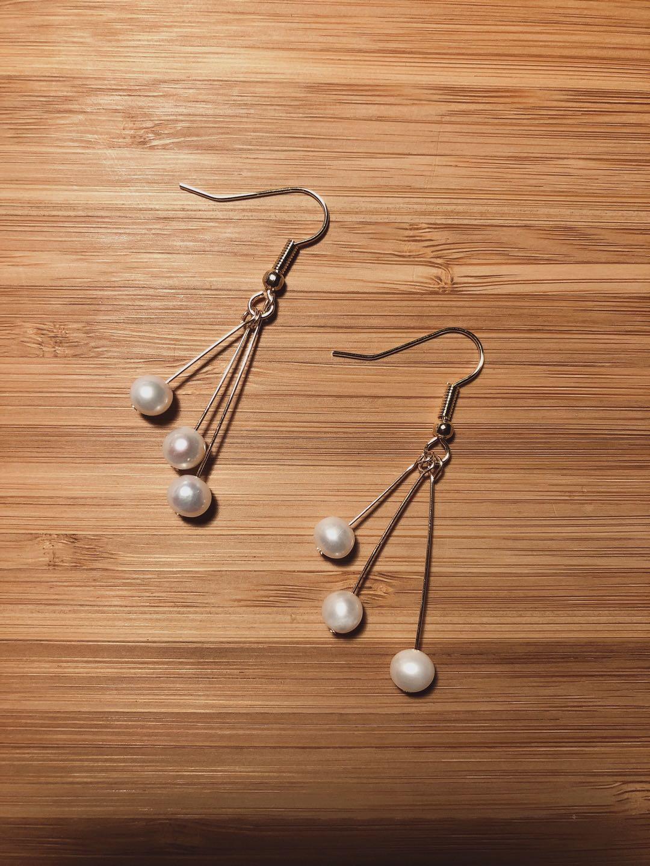 母亲节最温柔的礼物:简约百搭珍珠耳环