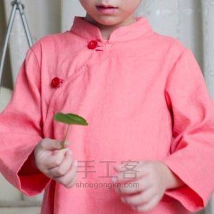 钱多多DIY衣橱丨纯亚麻中式上衣制作