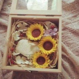 纸藤花盒丨向日葵主题花盒制作详解