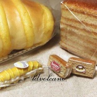 软陶入门篇丨蜂蜜蛋糕和毛毛虫面包制作