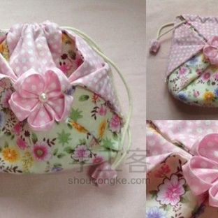 布艺初体验丨樱花束口袋的完全制作