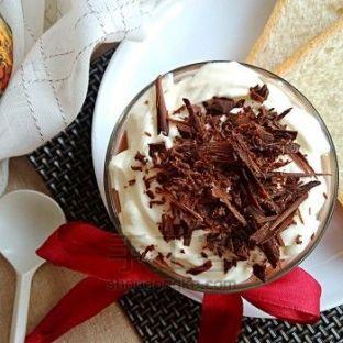 香浓丝滑丨不用吉利丁的巧克力慕斯