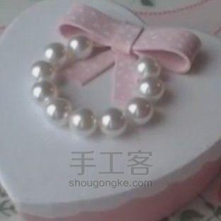 软陶手工制作心形盒子