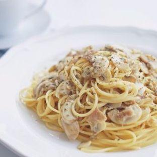 奶油培根意大利面