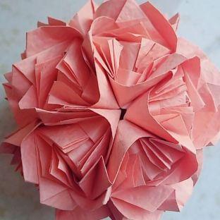 暗幽手作   Fluffy Rose花球