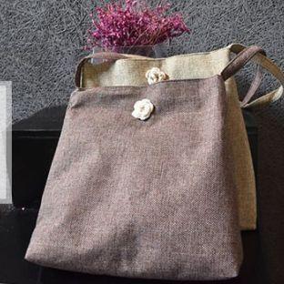你知道吗?这样的包也可以纯手缝。