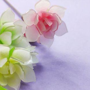 【你与繁花】立体热缩之玉兰花『晨曦』
