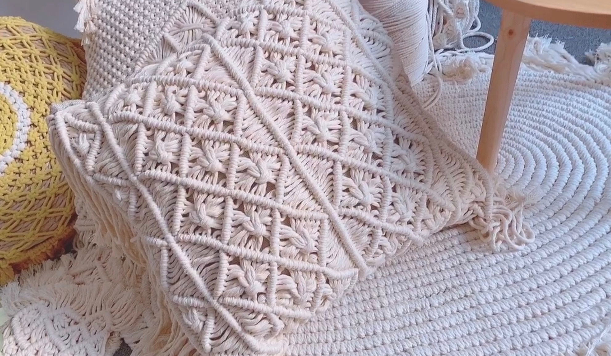 Macrame编织/抱枕