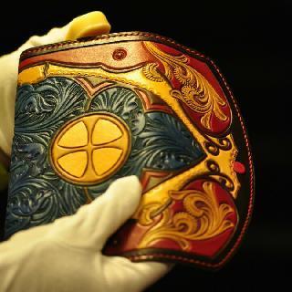 杭州浮革手工皮具皮雕