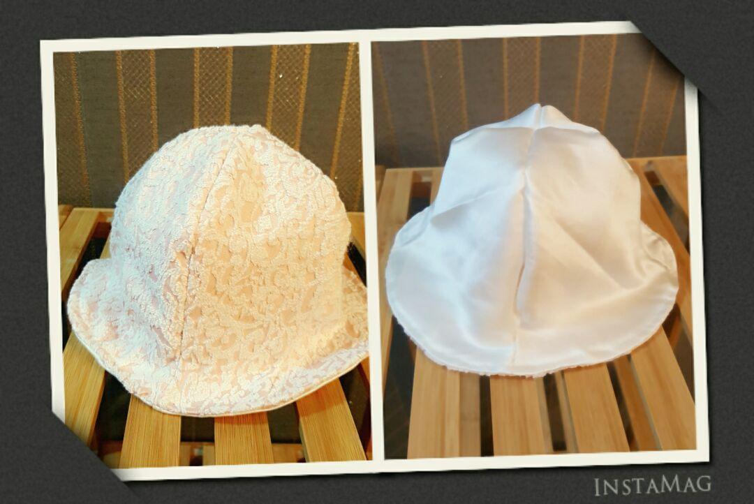 以前发过这款帽子的图片,但是没拍过程,希望对大家有帮助
