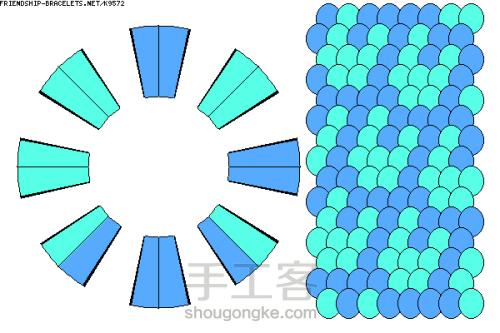 30款盘编 布线图 第13步