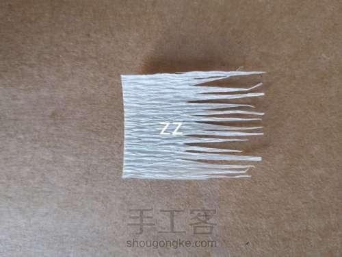 皱纹纸樱花的制作方法 第4步