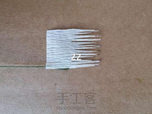 皱纹纸樱花的制作方法 第6步