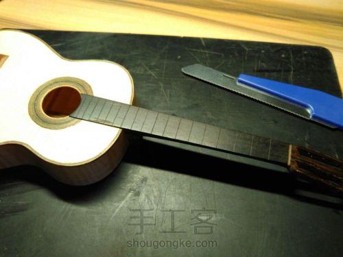 史上最精致小吉他 能弹的迷你微缩手工吉他 第90步