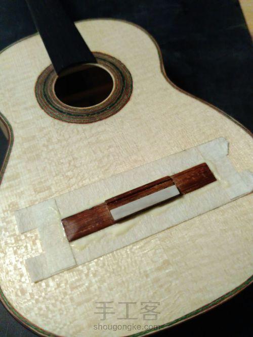 史上最精致小吉他 能弹的迷你微缩手工吉他 第89步