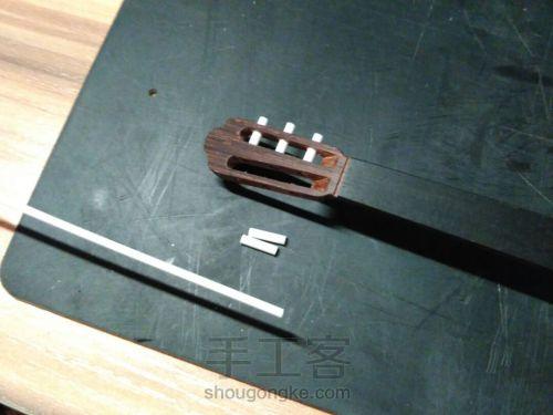 史上最精致小吉他 能弹的迷你微缩手工吉他 第96步