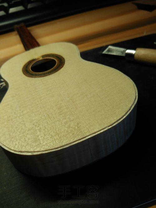 史上最精致小吉他 能弹的迷你微缩手工吉他 第74步