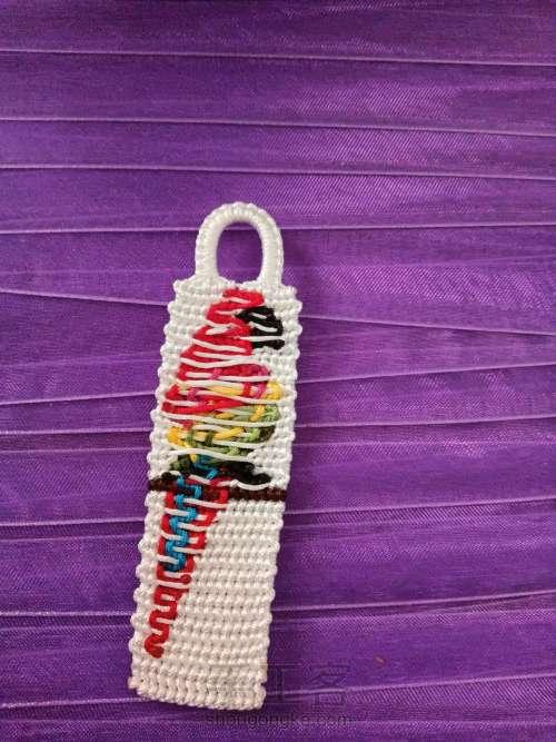 鹦鹉编织 第14步