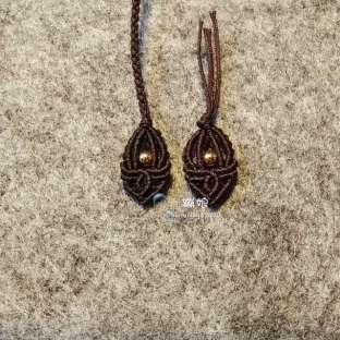 简单版项链绳尾扣(原创)