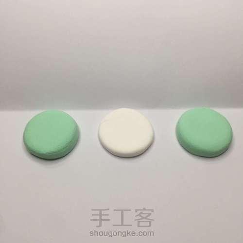 【原创】粘土手作 萝卜小蛋糕 第3步