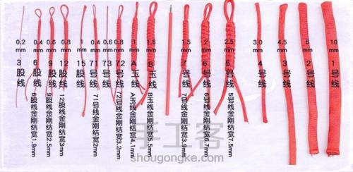 新手编绳如何选择线材?初学者编绳买什么线? 第1步