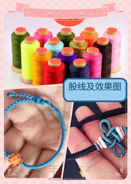 新手编绳如何选择线材?初学者编绳买什么线? 第4步